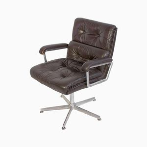 Mid-Century Office Chair Armchair from Girsberger