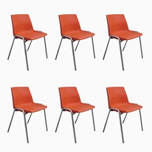 Dining Chairs by J.P. Emonds-Old for OVP, 1970s, Set of 6