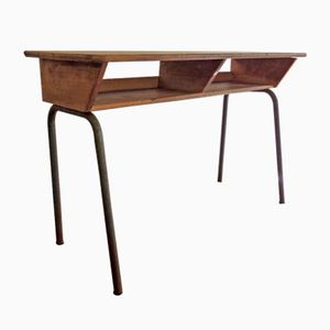Double School Desk, 1950s