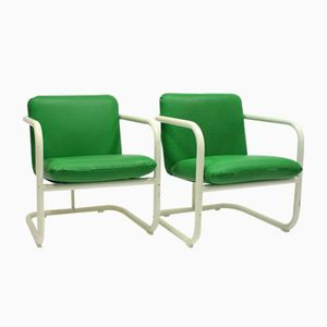 S70-4 Lounge Chairs by Lindau & Lindekrantz for Lammhults, 1970s, Set of 2