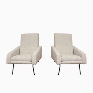 Armchairs by Pierre Guariche, 1950s, Set of 2