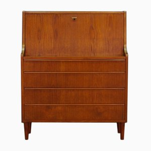 Vintage Danish Teak Veneered Secretary