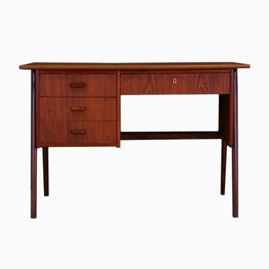 Vintage Danish Teak Veneered Desk
