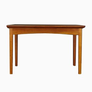 Mid-Century Danish Teak Veneered and Oak Dining Table