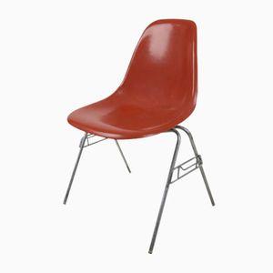 Vintage DSX Glasfaser Stuhl von Charles & Ray Eames für Herman Miller