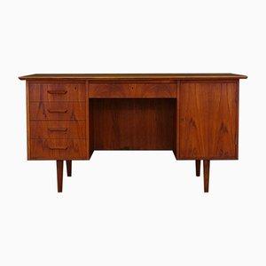 Vintage Danish Teak Veneer Desk
