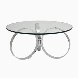 Mid-Century Modern Chromed Coffee Table, 1960s