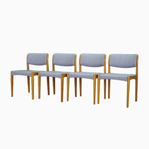 Vintage Ash Chairs by H. W. Klein for Bramin, Set of 4
