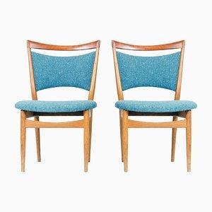 SW87 Stühle von Finn Juhl für Søren Wiladsen, 1952, 2er Set