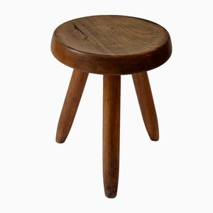 Berger Model Stool by Charlotte Perriand for Steph Simon, 1950s