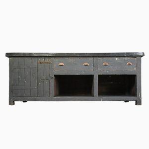 Vintage Industrial Zinc Cabinet