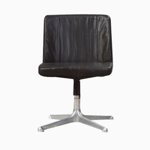 Mid-Century P125 Swivel Chair by Osvaldo Borsani for Tecno