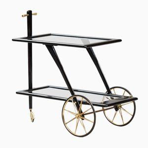 Chariot pour Thé Mid-Century, Italie