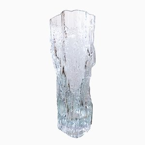Ice Glass Vase by Tapio Wirkkala for Iittala, 1970s