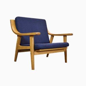 Dänischer GE-530 Sessel von Hans J. Wegner für Getama, 1970er