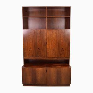 Danish Rosewood Bookcase by Ib Kofod Larsen for Klim Møbelfabrik, 1970s
