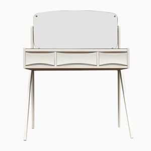 Danish Vanity Unit with Floating Mirror by Arne Vodder, 1960s
