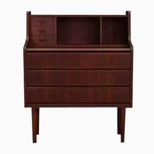 Mid-Century Danish Teak Veneered Secretaire