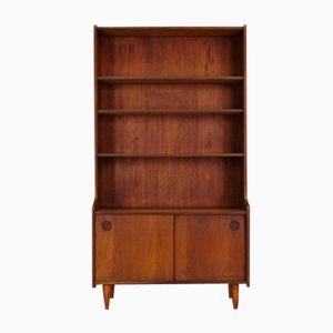 Mid-Century Danish Teak Veneered Bookcase