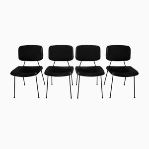 CM196 Chairs by Pierre Paulin for Thonet, 1950s, Set of 4