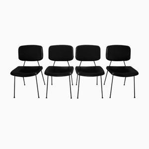 CM196 Stühle von Pierre Paulin für Thonet, 1950er, 4er Set