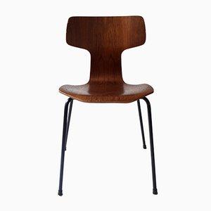 Vintage 3103 Stuhl von Arne Jacobsen für Fritz Hansen