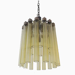 Italian Chandelier by Archimede Seguso for Seguso, 1950s