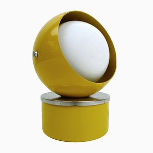 Adjustable Yellow Table Light by Hustadt-leuchten, 1960s