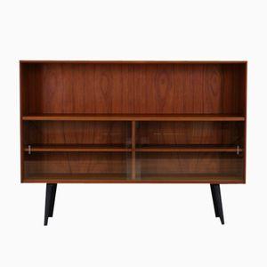 Vintage Teak Veneer Cabinet