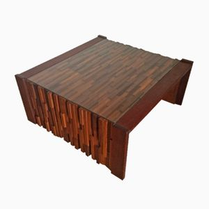 Mid-Century Modernist Coffee Table by Percival Lafer, 1960s