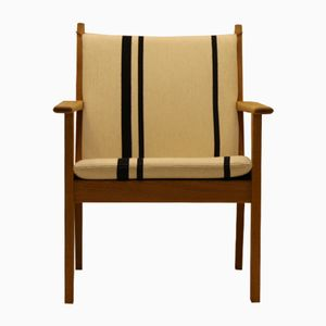 GE284 Oak Armchair by Hans J. Wegner for Getama