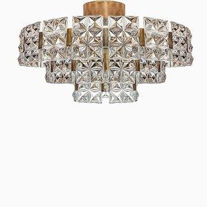 Large Mid-Century Chandelier by Egon Hillebrand for Hillebrand Lighting