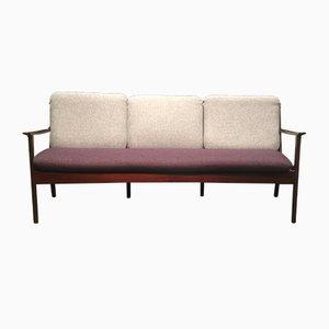 Drei-Sitzer Sofa von Ole Wanscher für Poul Jeppesens Møbelfabrik, 1960er