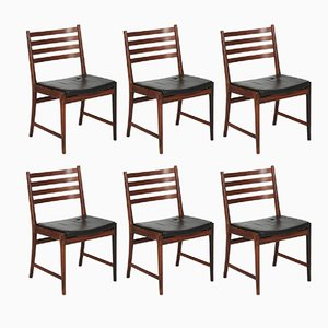 Esszimmerstühle aus Brasilianischem Palisander von Kai Lyngfeldt Larsen für Søren Willadsen, 1960er, 6er Set