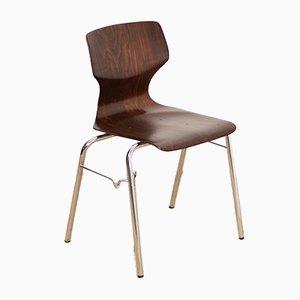 Vintage Industrial School Chair from Flötotto