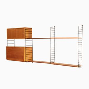 Shelving Unit by Kajsa & Nils Strinning for String, 1950s