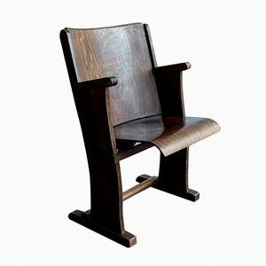 Single Cinema Chair from Ton Czechoslovakia, 1960s