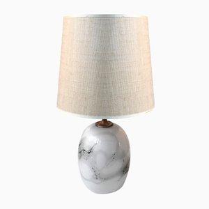 Danish Modernist Sakura Table Lamp by Michael Bang for Holmegaard, 1970s