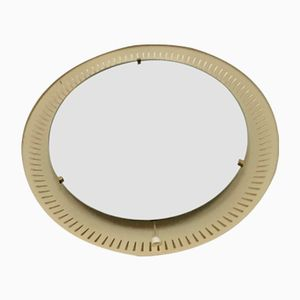 Illuminated Mirror with Metal Frame, 1960s