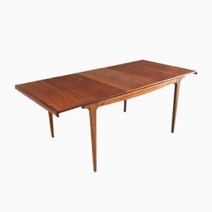 Mid-Century Modern Teak Extendable Dining Table