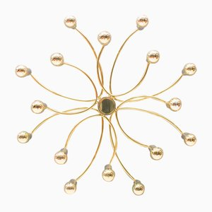 18-Arm Wall or Ceiling Light, 1960s