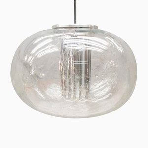 Ice Glass Ball Lamp from Doria Leuchten, 1960s