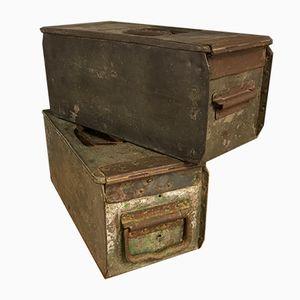 Antique German WWI Machine Gun 08 Ammo Box