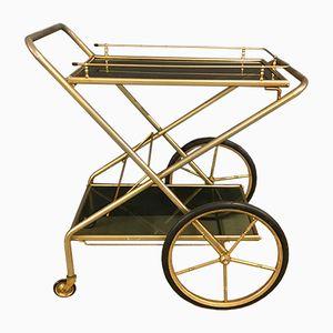 Vintage Brass Service Trolley