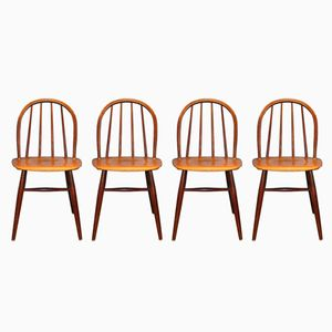 Fanett Chairs by Ilmari Tapiovaara for Edsby Verken, 1959, Set of 4
