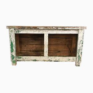 Vintage Green & Grey Workbench