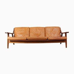 GE530 Sofa von Hans J. Wegner für Getama, 1970er