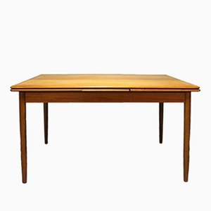Teak Dining Table with Extensions, 1960s