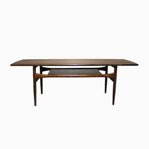 Rosewood Coffee Table from Arrebo Møbler, 1960s