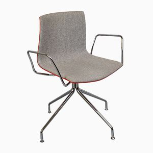 Mid-Century Modern Italian Califa 53 Office Chair from Arper